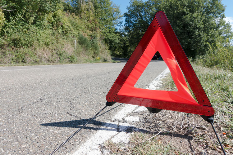 triangle de danger