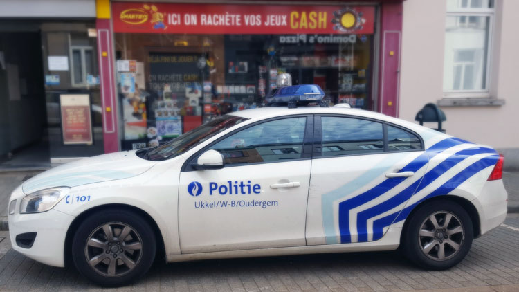 véhicule police locale
