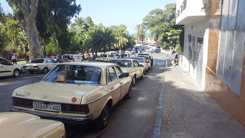 Taxis, Tanger